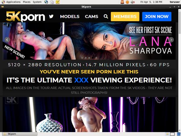 5kporn.com Discount Off