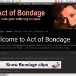 Act Of Bondage Recent