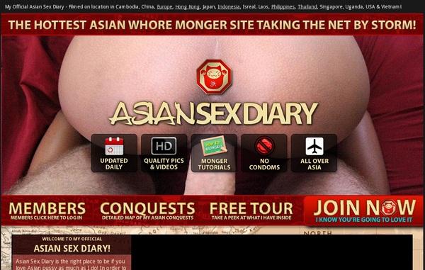 Asian Sex Diary Password List