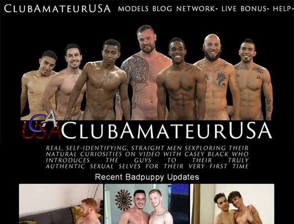 Club Amateur USAaccounts