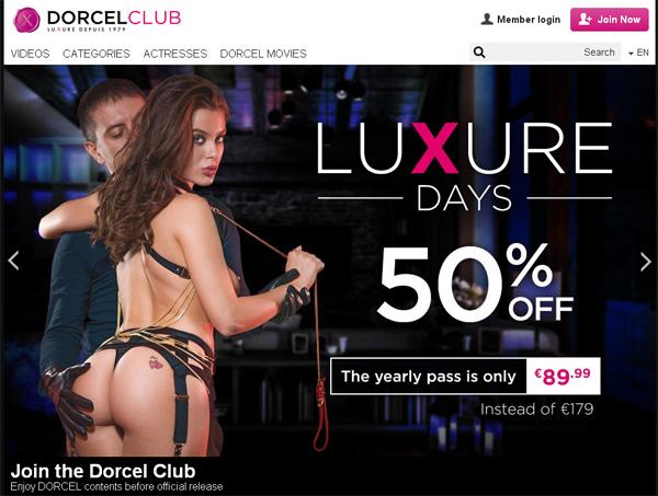 Dorcel Club Login And Password