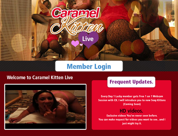 How To Access Caramelkittenlive