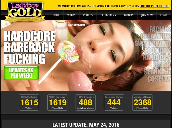 Ladyboygold.com Get A Password