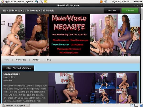Mean World MegaSite Join By EU Debit