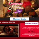 Pay For Caramel Kitten Live