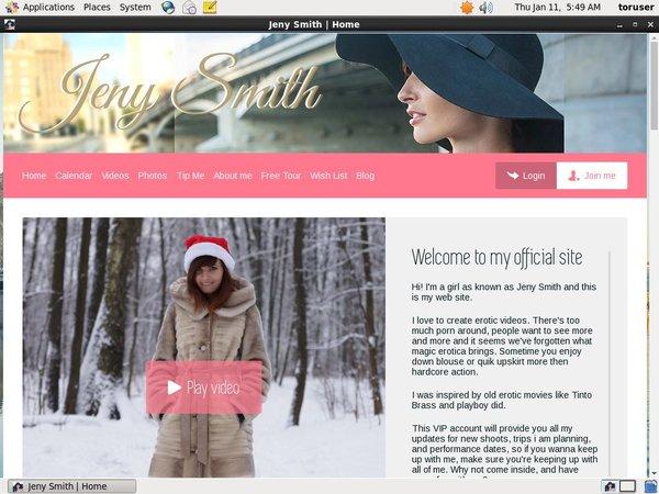 Premium Account Jeny Smith