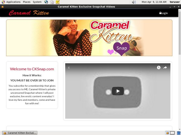 Caramel Kitten Free Trial Access