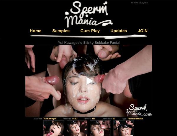 Sperm Mania Passwords 2019