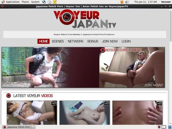 Voyeurjapantv Account Membership