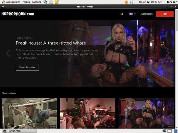Access Horror Porn Free
