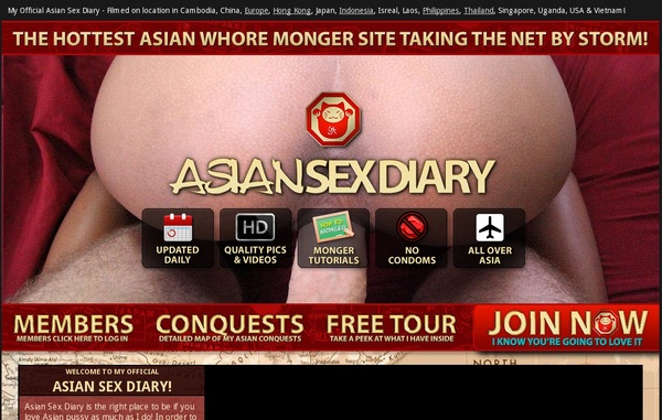 Free Asian Sex Diary Trial Offer