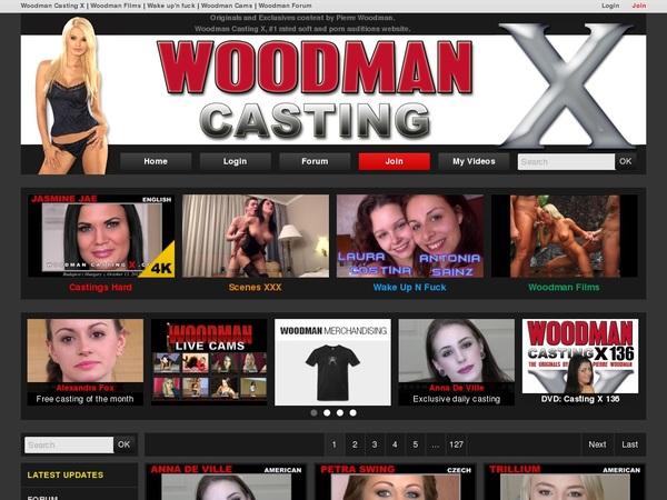 X Casting Woodman Promo Code