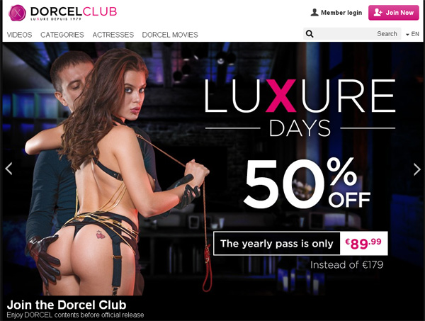 Dorcelclub Porn Pass