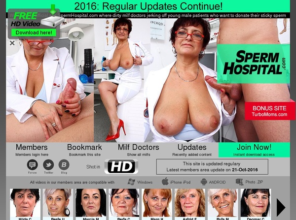Sperm Hospital Account For Free