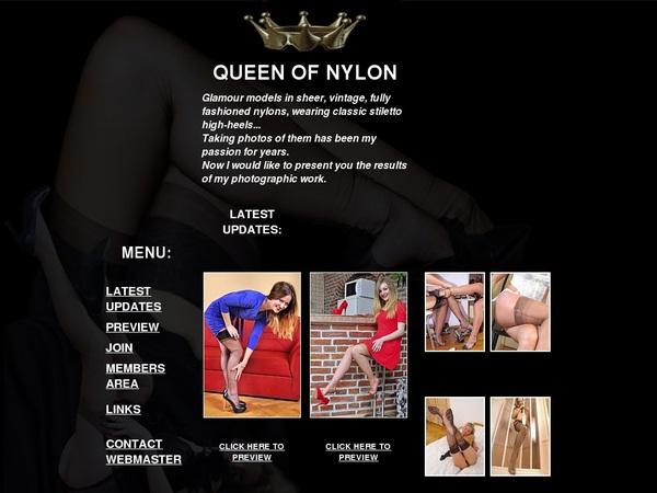 Queen Of Nylon Login Free